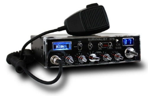 Survivalist 375 CB SSB Radio