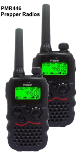 PMR446 Prepper Radios