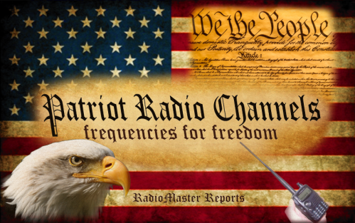 Patriot Radio Channels. Frequencies for Freedom.